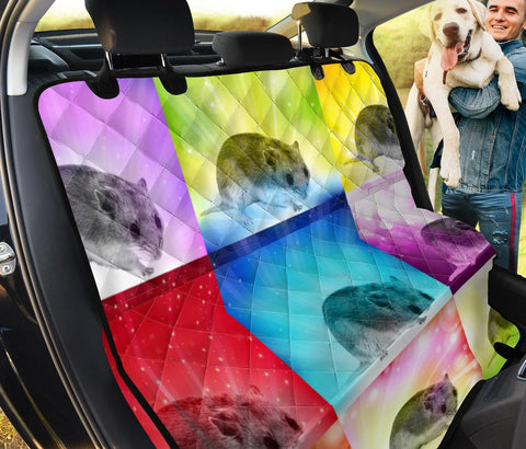 Chinese Hamster Print Pet Seat Covers