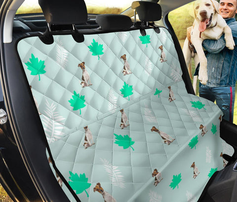 Jack Russell Terrier Patterns Print Pet Seat Covers