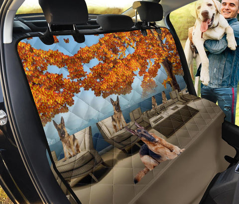Amazing German Shepherd Print Pet Seat Covers