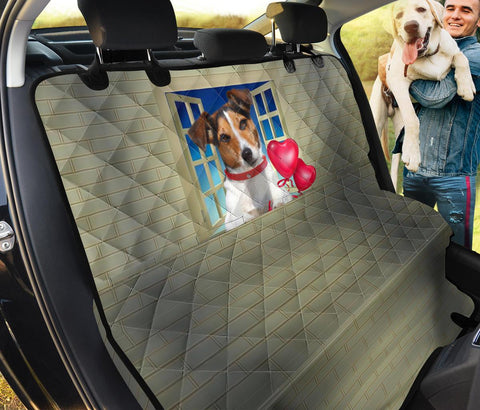 Jack Russell Terrier Print Pet Seat Covers