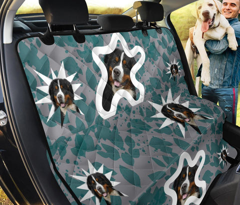 Cute Bernese Mountain Dog Print Pet Seat Covers