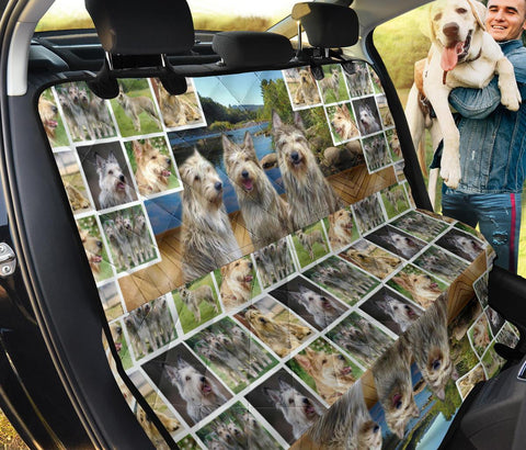 Berger Picard Collage Print Pet Seat Covers