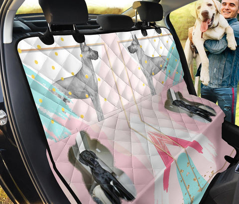 Great Dane Dog Print Pet Seat Covers
