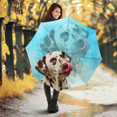 Amazing Dalmatian Dog Print Umbrellas