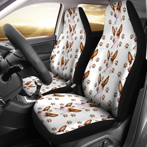 Ibizan Hound Dog Patterns Print Car Seat Covers