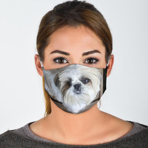 Lovely Shih Tzu Print Face Mask