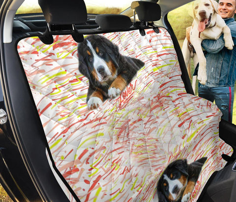 Bernese Mountain Dog Lover Print Pet Seat Covers