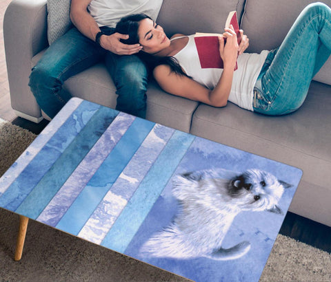 Norwich Terrier Print Rectangular Coffee Table