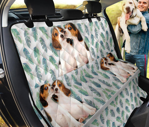 Lovely Beagle Print Pet Seat Covers