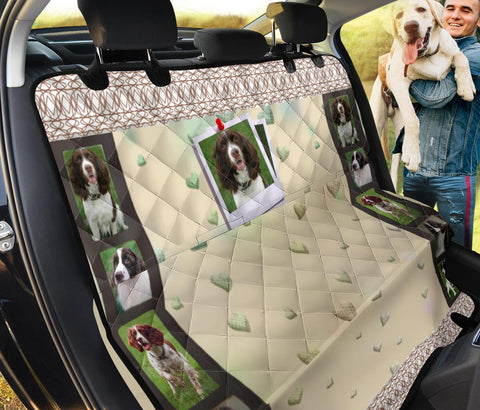 English Springer Spaniel Print Pet Seat covers