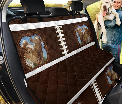 Guernsey Cattle(Cow) Print Pet Seat Covers