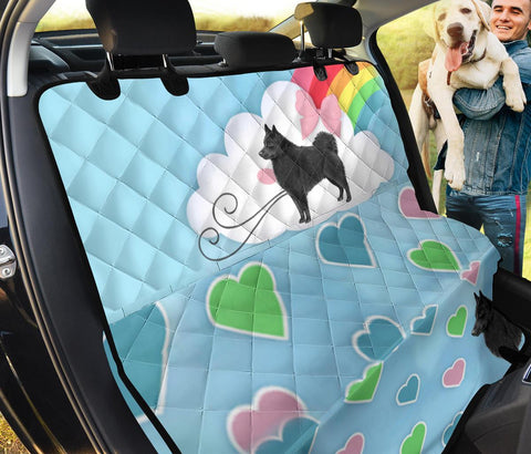 Schipperke Dog Print Pet Seat Covers