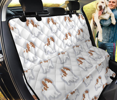 Cavalier King Charles Spaniel Print Pet Seat covers