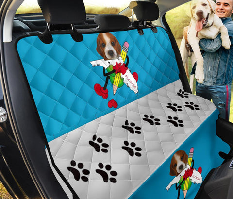 Beagle Florida Print Pet Seat Covers