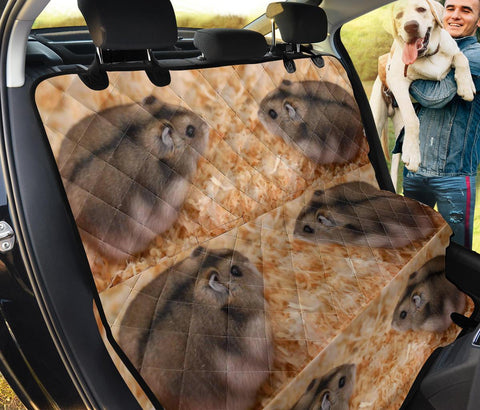 Lovely Campbell's Dwarf Hamster Patterns Print Pet Seat Covers