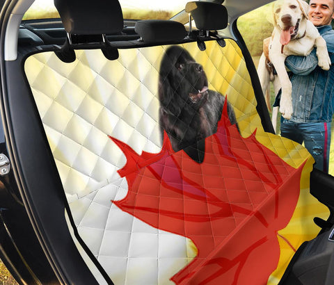 Newfoundland Dog Print Pet Seat covers