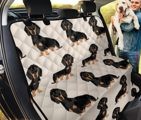 Dachshund Patterns Print Pet Seat covers