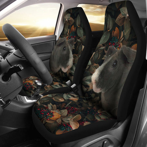 Skinny Pig Print Car Seat Covers