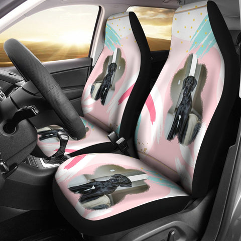 Great Dane Dog Print Car Seat Covers