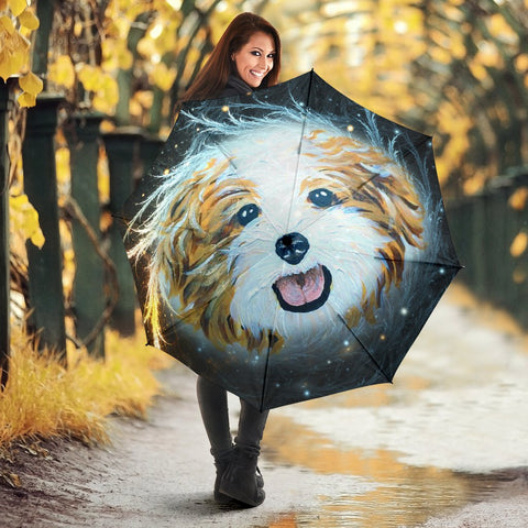 Cute Shih Tzu Print Umbrellas