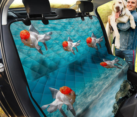 Lovely Comet Goldfish Print Pet Seat Covers