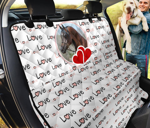 Arabian Horse Print Pet Seat Covers