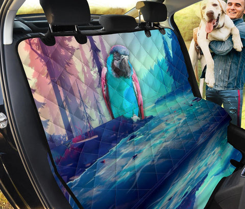 Amazing Catalina Macaw Print Pet Seat Covers