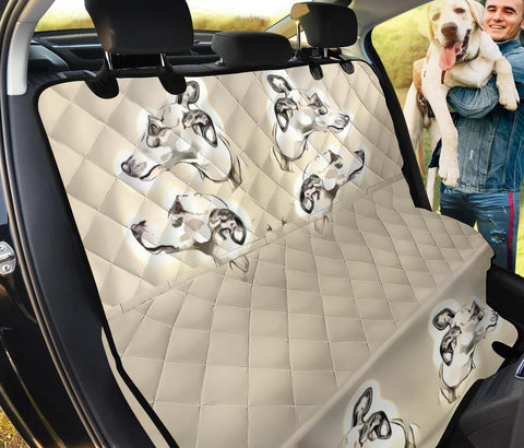 Amazing Whippet Dog Print Pet Seat Covers