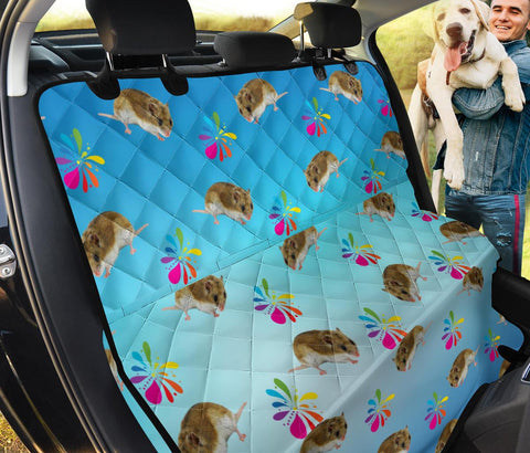 Chinese Hamster Patterns Print Pet Seat Covers