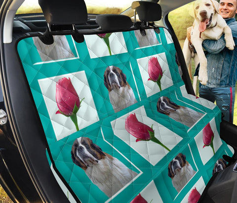 St. Bernard Print Pet Seat covers