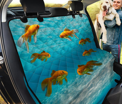 Lovely Comet Fish Print Pet Seat Covers