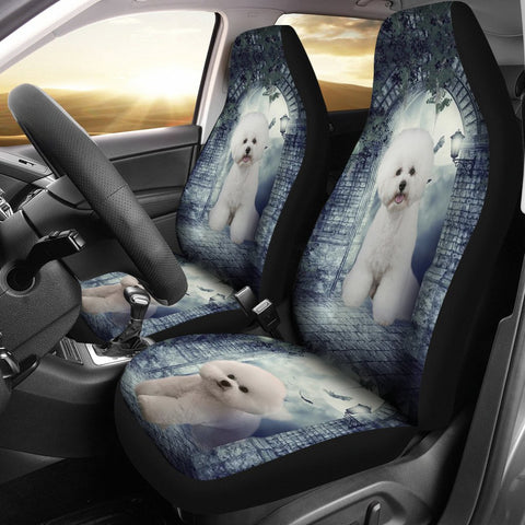 Amazing Pomeranian Dog Print Car Seat Covers