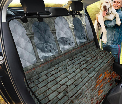 Chinese Hamster Arch Print Pet Seat Covers