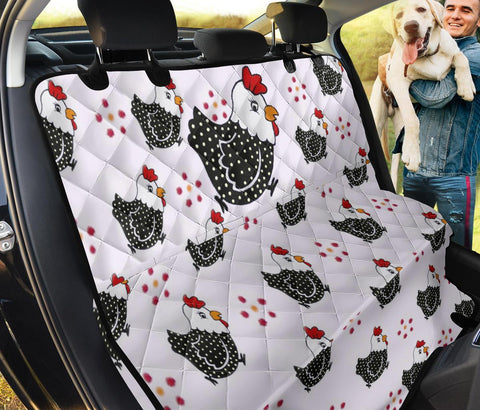 Cute Bird Print Pet Seat Covers