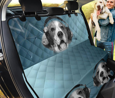 Beagle Print Pet Seat Covers