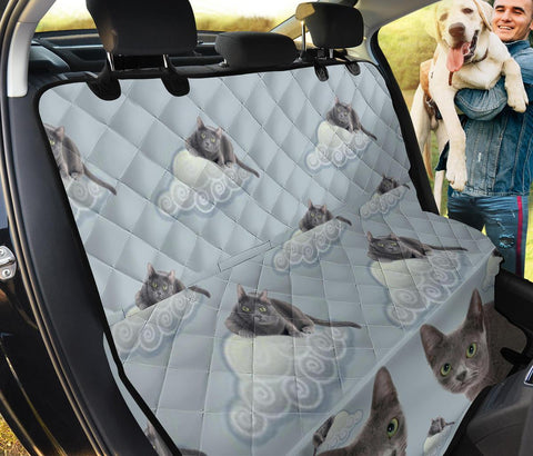 Korat Cat Print Pet Seat Covers