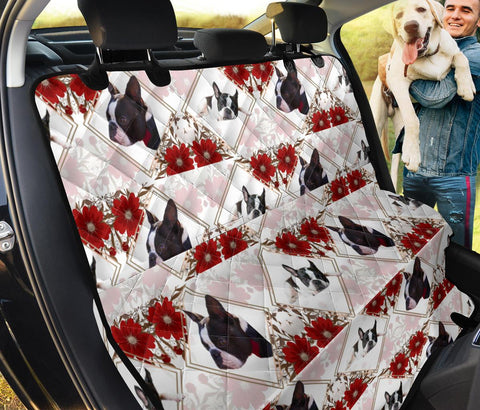 Boston Terrier Patterns Print Pet Seat Covers