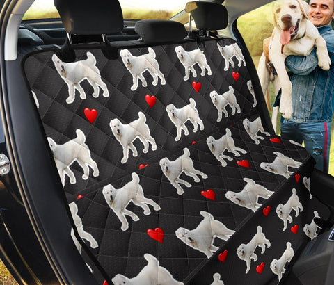Central Asian Shepherd Dog Patterns Print Pet Seat Covers