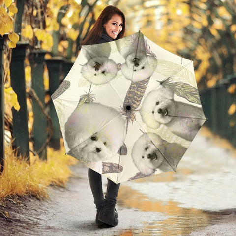 Bichon Frise Print Umbrellas- Limited Edition