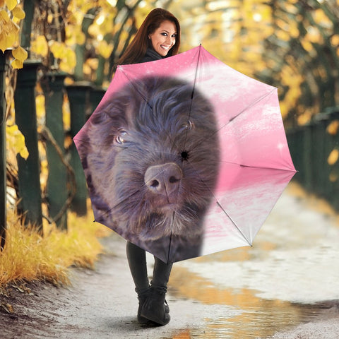 Bouvier des flandres Dog Print Umbrellas