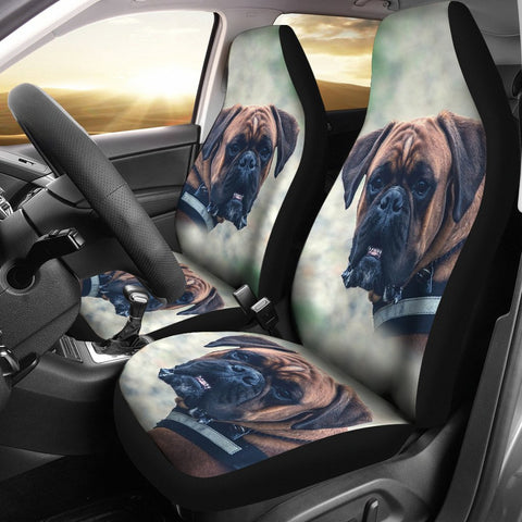 Cane Corso Dog Print Car Seat Covers
