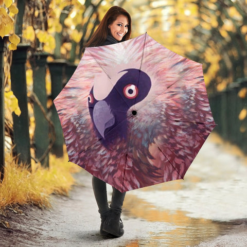 Bearded Vulture Bird Print Umbrellas
