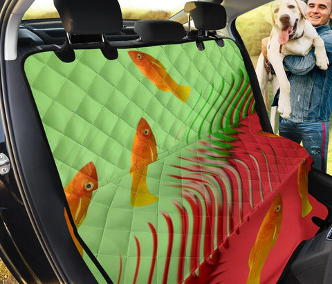 Common Molly Fish Print Pet Seat Covers