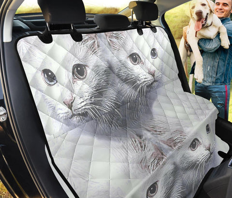 Turkish Angora Cat Print Pet Seat covers
