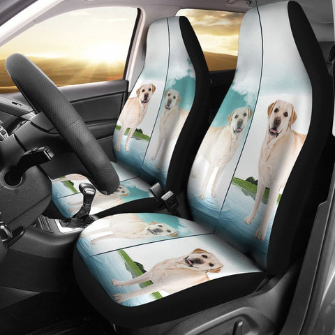 Amazing Labrador Retriever Print Car Seat Covers