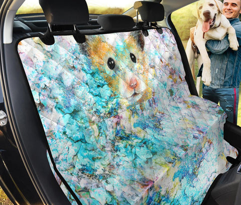 Cute Roborovski Dwarf Hamster Print Pet Seat Covers