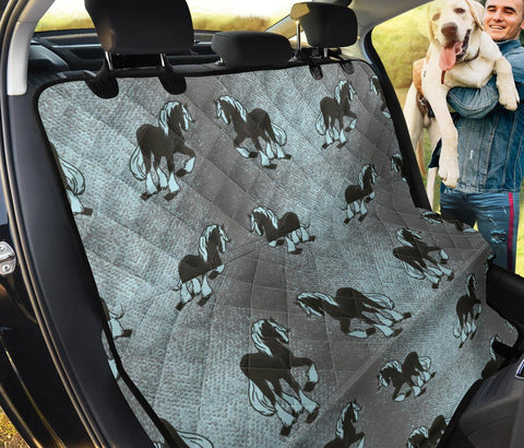 Clydesdale Horse Print Pet Seat Covers