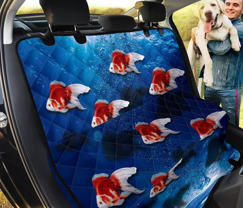 Lovely Ryukin Fish Print Pet Seat Covers