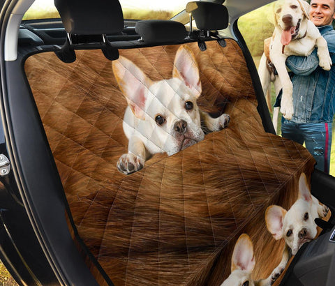French Bulldog Print Pet Seat Covers