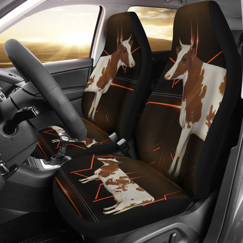 Ayrshire cattle (Cow) Print Car Seat Covers